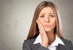 Toothache does not only mean tooth caries